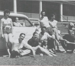 The founders of the original Barkdale Theatre in 1953.